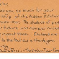 PJR-Construction-Deidra Ricci, Kitchen Tour Committee