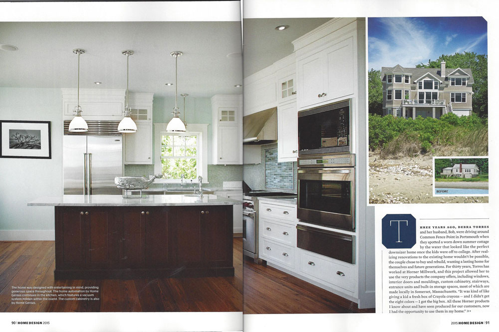 pjr construction rhode island monthly home design spread - Home Design Construction